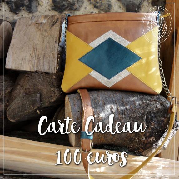 Carte cadeau d'une valeur de 100 € à valoir sur la boutique en ligne - Menthe Poivrée