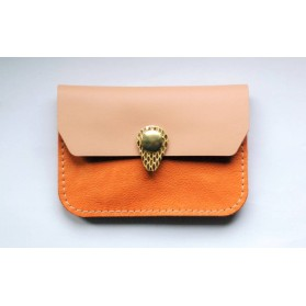 Porte monnaie Zanzibar Orange rose gold