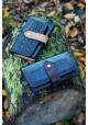 Compagnon - Bleu marine et prune fabrication française